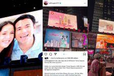 Wajahnya Terpampang di Billboard Times Square, Raffi Ahmad: Bangga Banget - JPNN.com