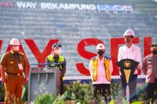Resmikan Bendungan Way Sekampung, Presiden Jokowi: Ini Bagus Sekali - JPNN.com