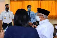 Meninjau PTM Sejumlah Sekolah, Ma'ruf Amin Berpesan Begini - JPNN.com