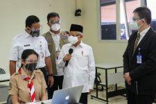Dikunjungi Wapres Ma'ruf Amin, Siswa-Siswi di Sekolah Ini Sangat Senang - JPNN.com