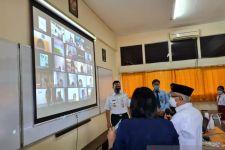 Wapres Ma'ruf Amin Tinjau Pelaksanaan PTM Terbatas di Jakarta - JPNN.com