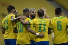 Klasemen Kualifikasi Piala Dunia Zona Conmebol: Brasil Memimpin, Chile Kian Terbenam - JPNN.com