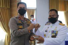 HUT TNI AL, Wakapolda Sumut Beri Kejutan di Mako Lantamal I Belawan - JPNN.com