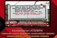 Kementerian ATR/BPN Cek Koordinat Lahan Sengketa Rocky Gerung dengan Sentul City - JPNN.com