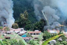 KKB Pimpinan Lamek Tablo Berulah, Baku Tembak dengan TNI dan Polri, Membakar Fasilitas Umum - JPNN.com