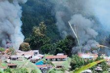 KKB Membakar Fasilitas Umum, Personel TNI dan Polri Bergerak, Dor, Dor, Mencekam - JPNN.com