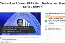 Wow, Petisi Afirmasi PPPK Guru Berdasarkan Masa Kerja dan NUPTK Sudah 25.000 Tanda Tangan - JPNN.com