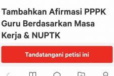 Dukung Petisi Tambahkan Afirmasi PPPK Guru, Honorer K2 Siapkan Surat Cinta untuk Jokowi - JPNN.com