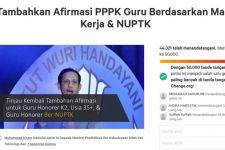 Petisi Tambahkan Afirmasi PPPK Guru 2021 Mendekati 50.000 Tanda Tangan - JPNN.com