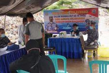 TNI AL Lanal Sangatta Gelar Serbuan Vaksinasi dan Bakti Sosial - JPNN.com
