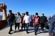LaNyalla Pimpin Rombongan DPD Kunjungi Pulau Untung Jawa - JPNN.com