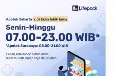 Apotek Online Lifepack Perpanjang Jam Operasional, Berikut Jadwalnya - JPNN.com
