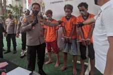 Ini 3 Pelaku Penjambretan di Jalan Kupang Jaya Surabaya, Muda-Muda Sadis - JPNN.com Jatim