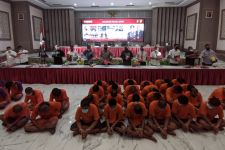 72 Pesilat Ditangkap oleh Jajaran Polda Jatim, Kasus Apa? - JPNN.com