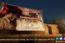 PDIP Gelar HUT Bung Karno di Blitar, Pedagang Kecil Ketiban Rezeki - JPNN.com