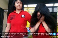 Akhir dari Aksi Janda Cantik yang Terekam CCTV - JPNN.com