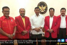 Temui Wiranto, SOKSI Ali Wongso Doakan Presiden Jokowi Bisa Dua Periode - JPNN.com