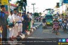 Miris, Ratusan Atlet Minta Sumbangan Warga di Jalanan - JPNN.com