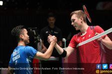Axelsen Cedera, Ginting Juara Grup, Chou Tien Chen Tersingkir - JPNN.com