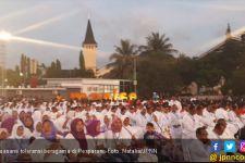 Ini Toleransi, Pastor dan Para Ibu Muslimah Nobar Pesparani - JPNN.com