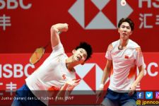Heboh! Duet Tiang Listrik Tiongkok Kesulitan Lewati Babak Pertama Indonesia Open 2019 - JPNN.com