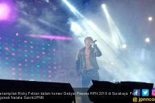Rizky Febian Bikin Histeris Penonton Gebyar Pesona HPN 2019 - JPNN.com