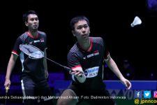Blibli Indonesia Open 2019: Sempat Tidak Tenang, Ahsan / Hendra Akhirnya Menang - JPNN.com