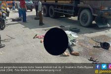 Sepasang Kekasih Tewas Dilindas Truk di Bypass Bandarlampung - JPNN.com