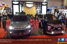 Toyota Innova dan Mitsubishi Xpander Tampil Keren di IIMS - JPNN.com