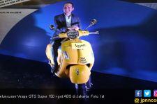 Vespa GTS Super 150 i-get ABS Kian Dinamis, Harga Rp 58 Juta - JPNN.com
