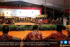 Syukuran Jokowi Menang Lagi, PDIP Gelar Wayangan di Tugu Proklamasi - JPNN.com