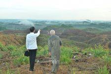 Dari Jauh, Presiden Jokowi Menatap Lokasi Calon Ibu Kota Negara - JPNN.com