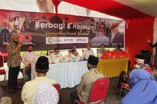 Relawan Jokowi Bagikan 1.200 Paket Sembako Kepada Warga Terdampak Covid-19 - JPNN.com