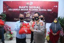 Warga Jakut Terima 1.000 Paket Sembako dari Akpol 1991 - JPNN.com