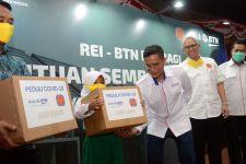 BTN dan REI Bagikan Sembako untuk Warga Terdampak COVID-19 - JPNN.com