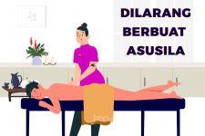 AJL Tak Berkutik saat Petugas Datang, Baju Terapis Jadi Bukti, Hmmm - JPNN.com