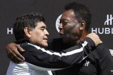 Rivalitas yang Aneh Antara Maradona Dengan Pele - JPNN.com