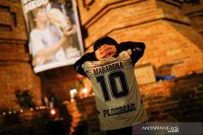 Mengenang Maradona, Seluruh Liga Spanyol Melakukan Hal Ini - JPNN.com