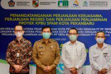 PT PP Melalui Tirta Madani Jalin MoU Proyek SPAM Kota Pekanbaru Senilai Rp499 Miliar - JPNN.com