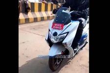 Suzuki Burgman Versi Listrik Mulai Diuji Coba di Jalan Umum - JPNN.com