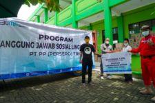 PT PP Salurkan Bantuan ke 3 Lokasi Terdampak Korban Banjir - JPNN.com