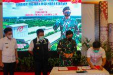 Arwana Citramulia Resmikan Pabrik Plant 4B di Ogan Ilir, Ini Harapan Marsekal TNI Hadi - JPNN.com