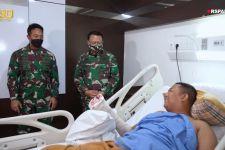 Terbaring di Rumah Sakit, Praka Supriyanto Diberi Kejutan oleh KSAD - JPNN.com