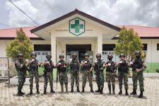 Prajurit TNI Satgas Pamtas Yonif 131/Brs Sukseskan Vaksinasi Covid-19 - JPNN.com