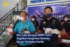 Bea Cukai dan BNNP Sulut Menggagalkan Pengiriman Tembakau Gorila ke Tondano - JPNN.com