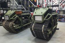 Insinyur Rusia Sulap Skutik Menjadi Tank Mini, Namanya Hamyak - JPNN.com