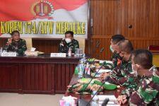 Danrem Merauke Pimpin Rapat Evaluasi Kinerja Satgas Pamtas RI-PNG, Hasilnya? - JPNN.com