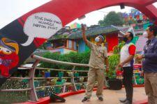 Percantik Kampung Pelangi, Nippon Paint Gandeng Hotel Grand Edge Semarang - JPNN.com