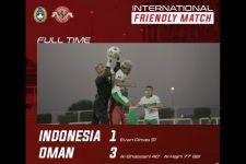 Indonesia vs Oman: Evan Dimas Mencetak 1 Gol - JPNN.com