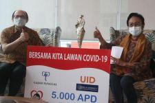 RS St Carolus Jakarta Menerima Donasi 5.000 APD dari Yayasan UID - JPNN.com